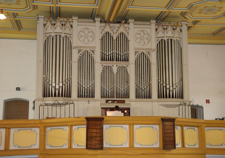 Ev Luth Kirchengemeinde Ronneburg Ladegastorgel